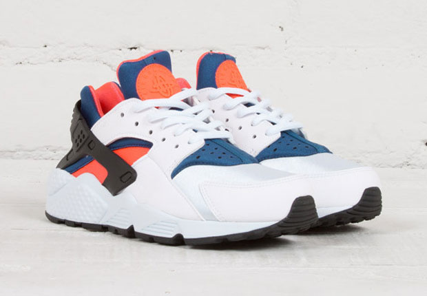 Nike hurache white , Orange and Blue | Nike HURACHES