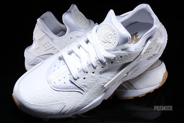 huarache white gum