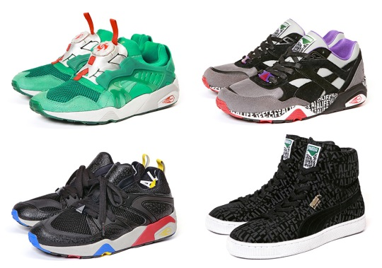ALIFE's Collaboration With Puma Continues With Four More Sneakers