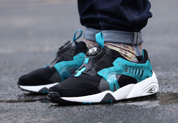 the puma disc blaze goes coastal in two ways. Black Bedroom Furniture Sets. Home Design Ideas