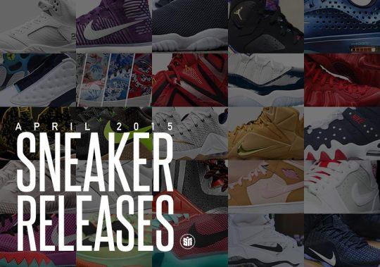 April 2015 Sneaker Releases