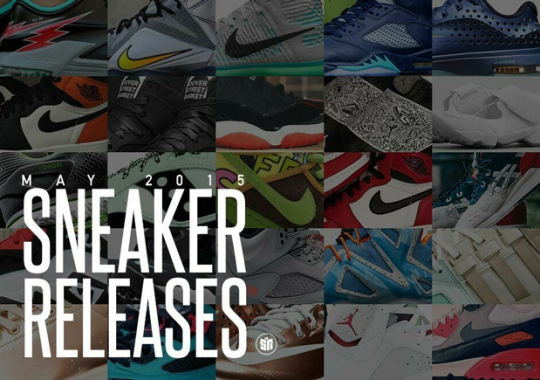 May 2015 Sneaker Releases