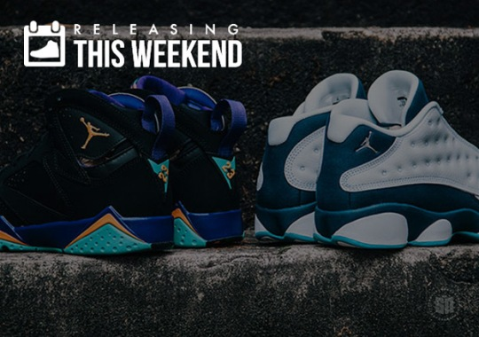 Sneakers Releasing This Weekend – April 18th, 2015