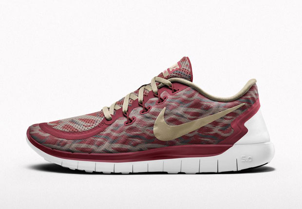 The camo print that you recently saw on the Gyakusou x NikeLab Lunaracer 3  is now up for grabs on your own custom colorway of the brand new Nike Free  Run.