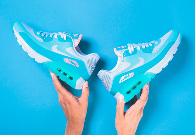 10968c41ddc0f well-wreapped A Pastel and Icy Nike WMNS Air Max 90 Ultra BR