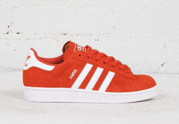 Adidas Originals Campus 2 adidas originals campus 2 - red - white - sneakernews