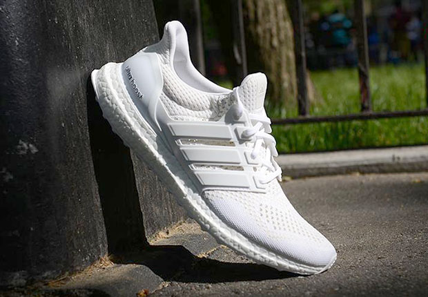 23f414099d4 adidas Just Released The All-White Ultra Boosts - SneakerNews.com