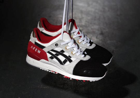 """afew and Asics Created A 1-Of-1 """"Black Koi"""" For Charity"""