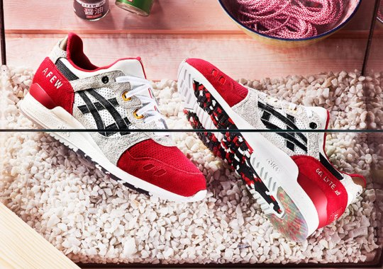 "First Look at the afew x Asics Gel Lyte III ""Koi"""