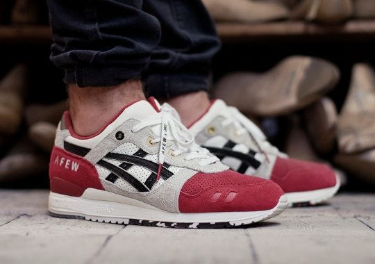 "An On-Foot Look At The afew x Asics Gel Lyte III ""Koi"""