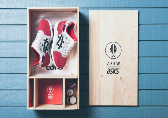 "afew x Asics Gel Lyte III ""Koi"" Releases Worldwide This Saturday"