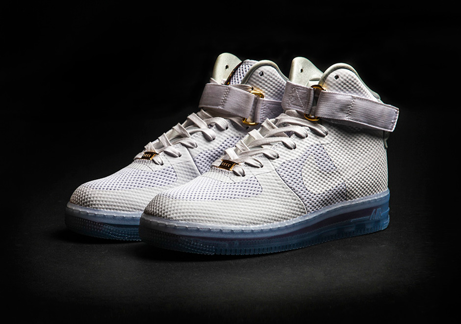 a new take on the nike air force 1 with a translucent sole. Black Bedroom Furniture Sets. Home Design Ideas