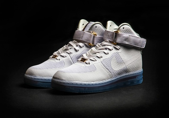 A New Take On The Nike Air Force 1 With A Translucent Sole