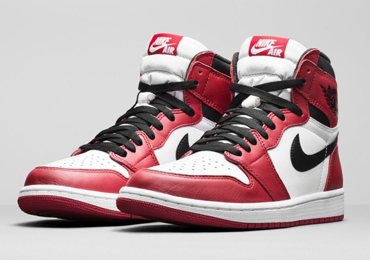 Complete Release Info For This Saturday's Air Jordan 1 Retro High OG