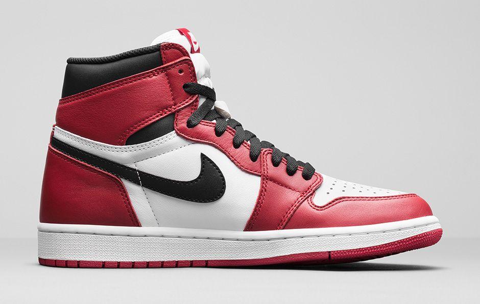 Air Jordan 1 Retro High Og 30,5 Nyheter