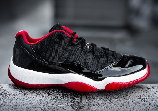 "A Detailed Look At The Air Jordan 11 Low ""Bred"""