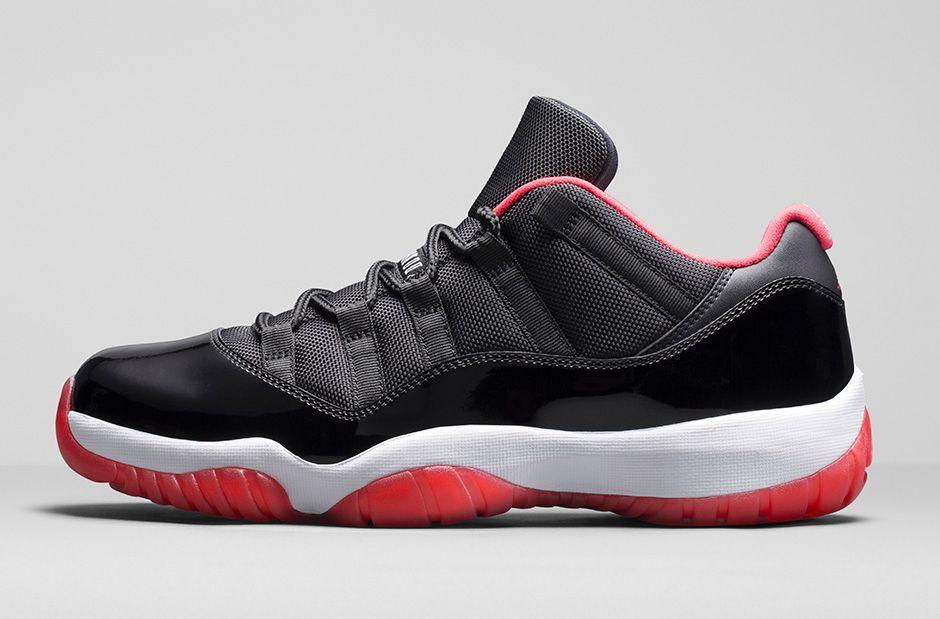 Nike Air Jordan 11 Criado Negro-verdadera Mini-rojo-blanco Fs4Hg