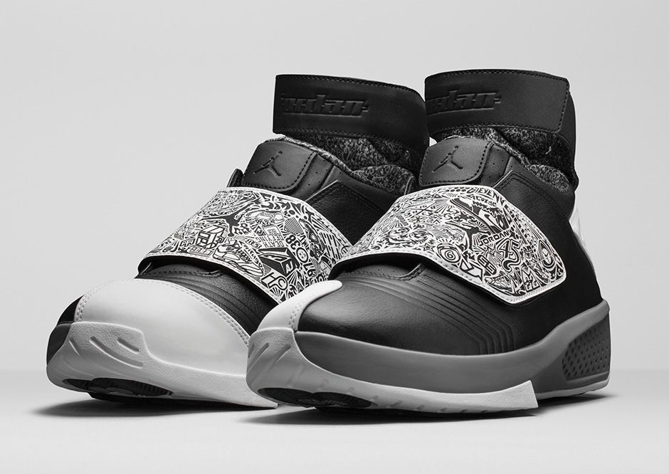 "official photos b5122 955d6 Official Images Of The Air Jordan 20 Retro ""Oreo"""