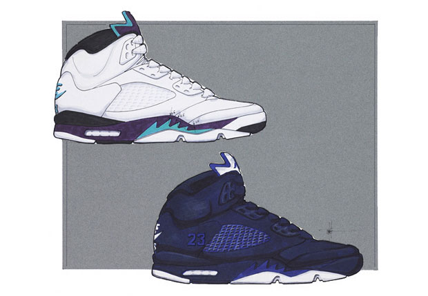 """Did you pick up the Air Jordan 5 Retro """"Hornets"""" this past weekend  If so 3fe973b7c6"""