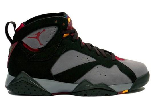 """Air Jordan 7 """"Bordeaux"""" Returns in July"""