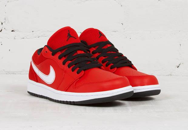 Air Jordan 1 Rouge Faible