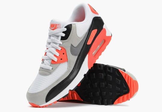 "Nike Air Max 90 ""Infrared"" – Confirmed U.S. Release Date"