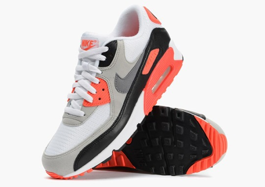 "Nike Air Max 90 ""Infrared"" – Confirmed U.S. Release Date"