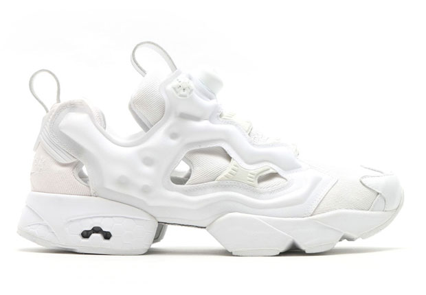 caaddf97f41 atmos Brings Tonal White To The Reebok Instapump Fury - SneakerNews.com
