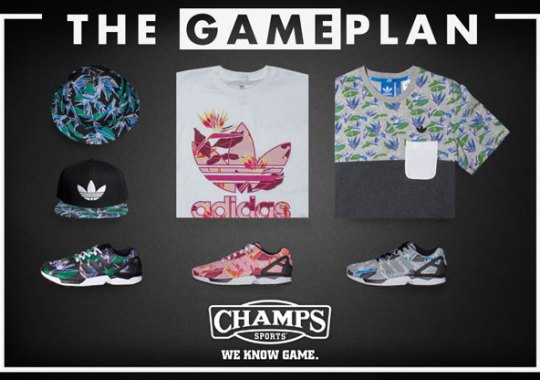 "The Game Plan by Champs Sports: adidas ZX Flux ""Floral"" Collection"