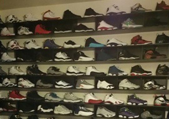 Colin Kaepernick Turns His Garage Into A Foot Locker