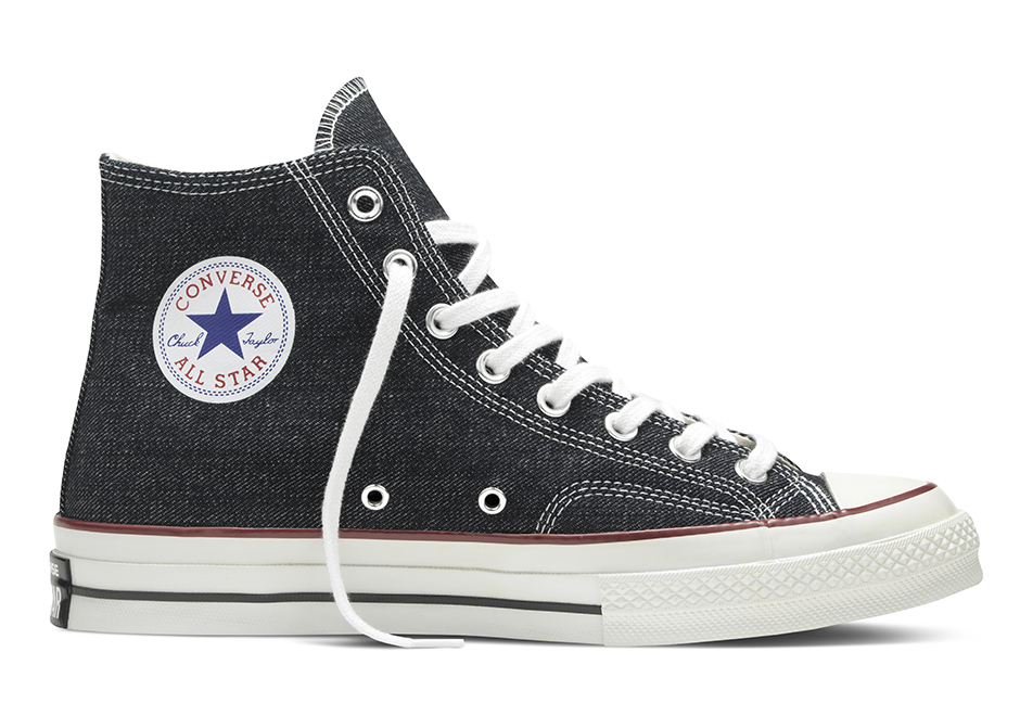 concepts brings premium denim to the converse chuck taylor. Black Bedroom Furniture Sets. Home Design Ideas
