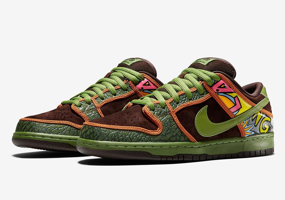 save off 8da5e da793 De La Soul Nike SB Dunk Low | SneakerNews.com