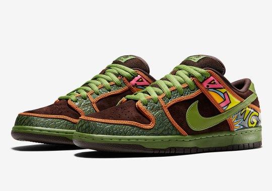 """Official Images Of The Nike SB Dunk Low """"De La Soul"""""""