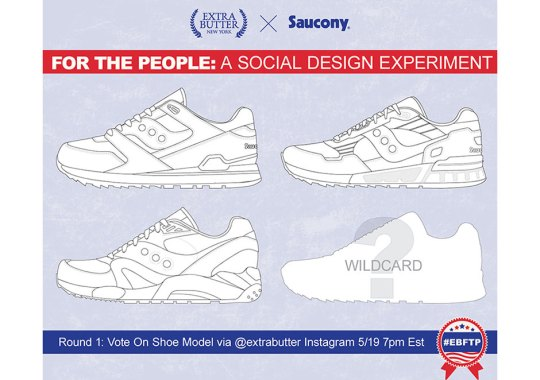 Extra Butter Is Letting Instagram Pick Their Next Saucony Sneaker Collaboration