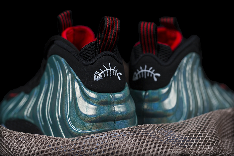 Nike Foamposite One Northern Lights heelWear Testers