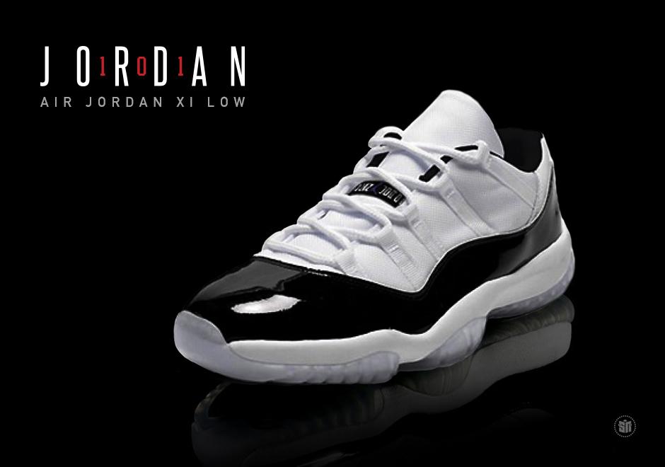4d80cd2813fcb JORDAN 101  The Air Jordan 11 Low
