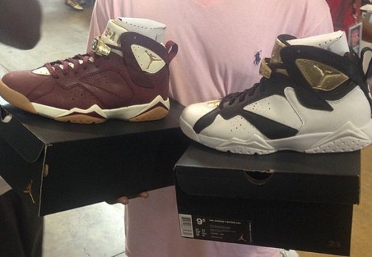 "Air Jordan 7 ""Cigar and Champagne"" – Release Date"