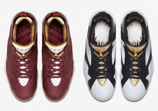 "Air Jordan 7 ""Cigar and Champagne"" Celebrates Jordan's First Back-To-Back Championships"