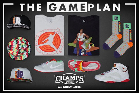 The Game Plan by Champs Sports: Jordan Hare Collection