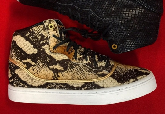 Michael Jordan's Daughter Has These Snakeskin Jordans Early