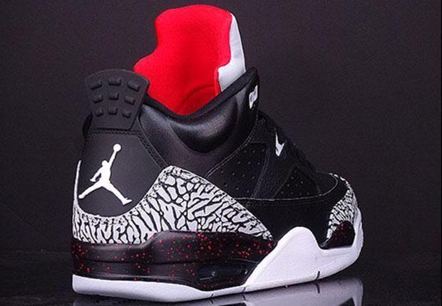 Air Jordan 3 Ciment Noir (rejets De Chaux Au Contact De Leau)