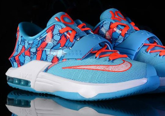 "Nike KD 7 GS ""Ice Cream"" Releases Tomorrow"