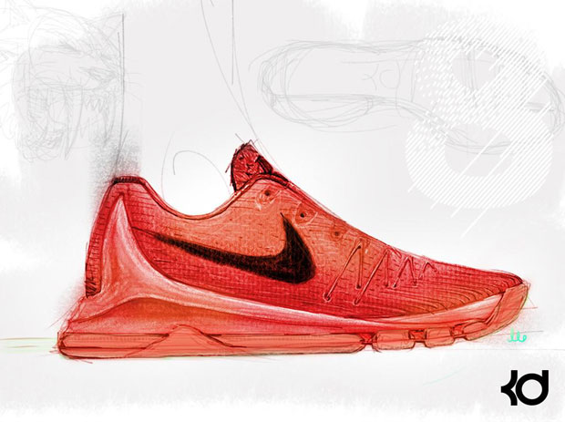 Clearance Nike Kd 8 - 2015 05 13 The Nike Kd 8 Design Sketch Reveals Sabretooth Inspiration