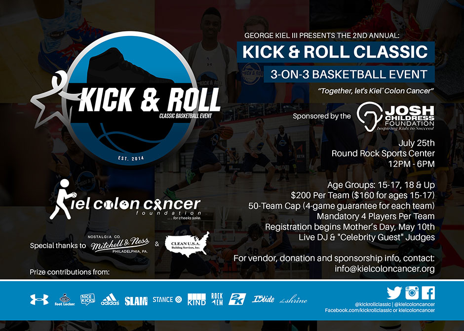 cheap The Kick amp Roll Classic Combines Sneakers And Basketball For A Great  Cause 49a45b915a