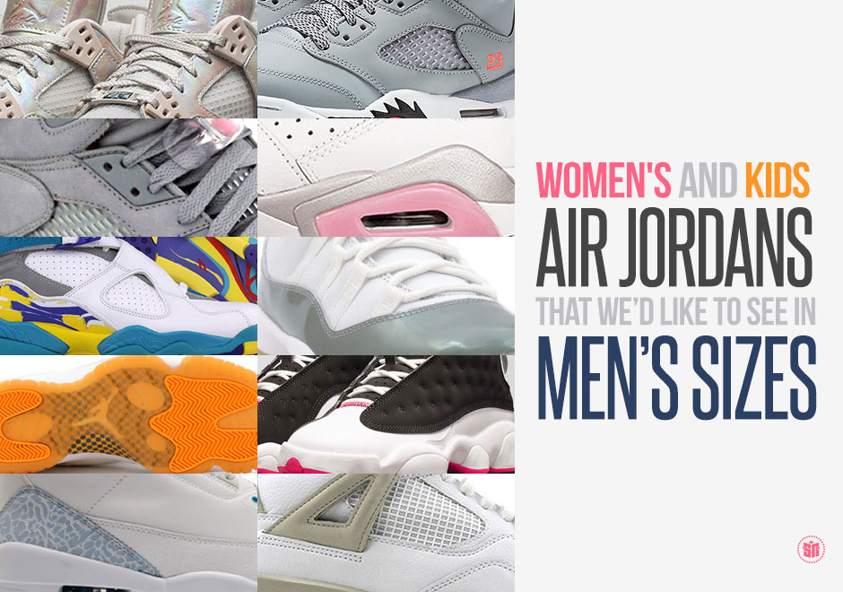best sneakers 67824 c2b36 Women s and Kids Air Jordans That We d Like to See in Men s Sizes