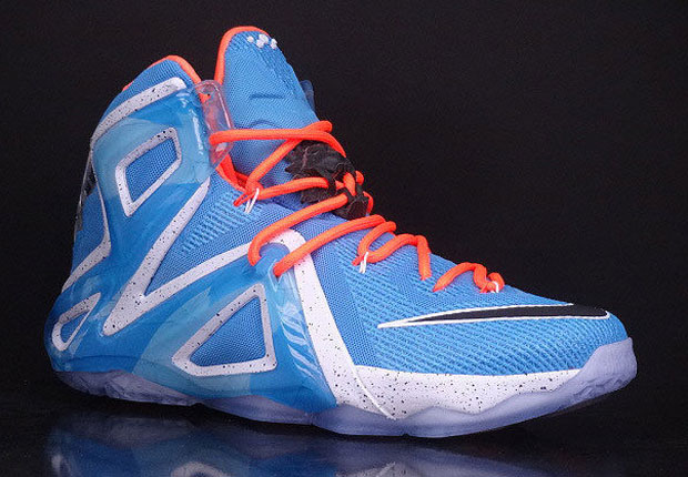 Nike LeBron 12 Elite Elevate Collection University Blue