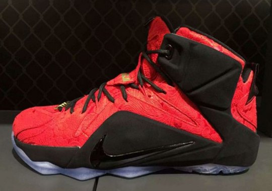 "Nike LeBron 12 EXT ""Red Paisley"""