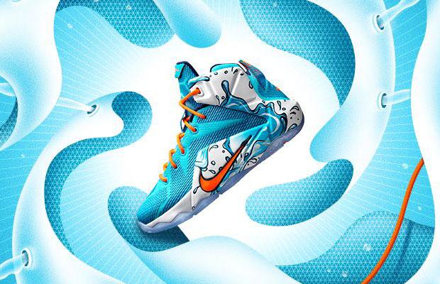 """watch 378aa c42d3 Nike LeBron 12 GS """"Buckets"""""""