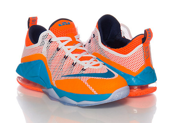 new concept ee6b6 4d5bb A Kids-Exclusive Release Of The Nike LeBron 12 Low ...