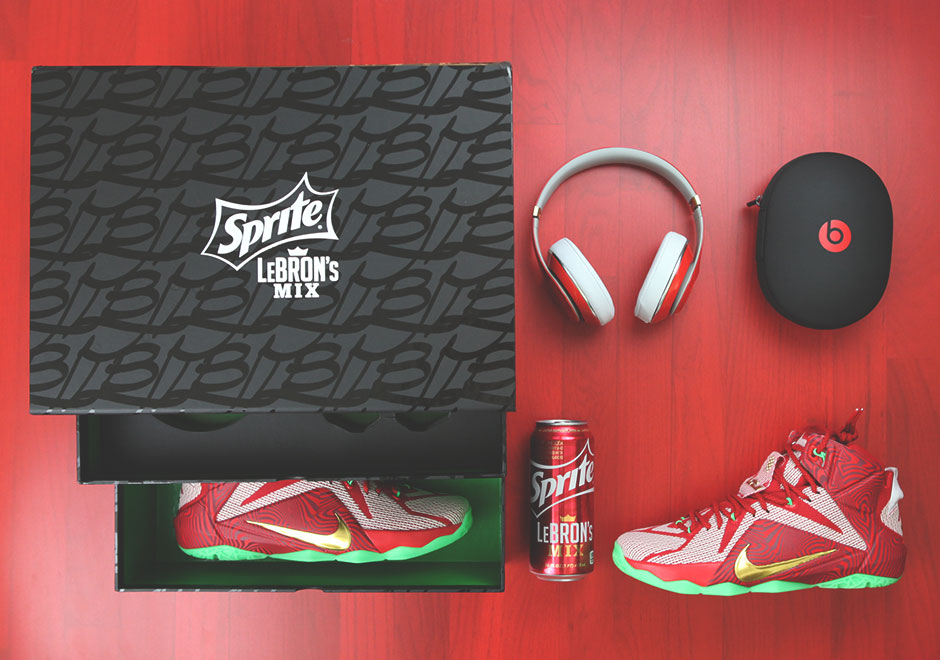 new concept e1e3c f2298 A Detailed Look At The Sprite LeBron's Mix Package ...